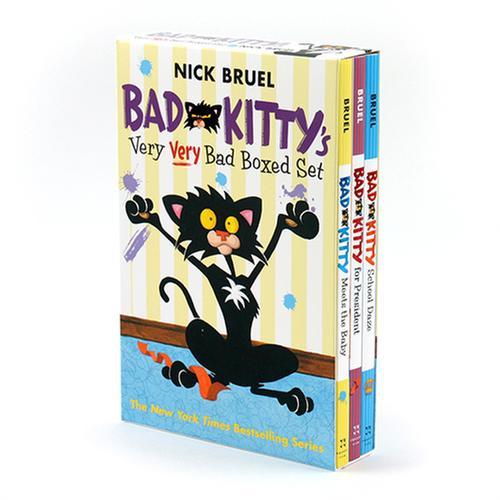 [원서] Bad Kitty's Very Very Bad Boxed Set 페이퍼백 3종 박스 세트