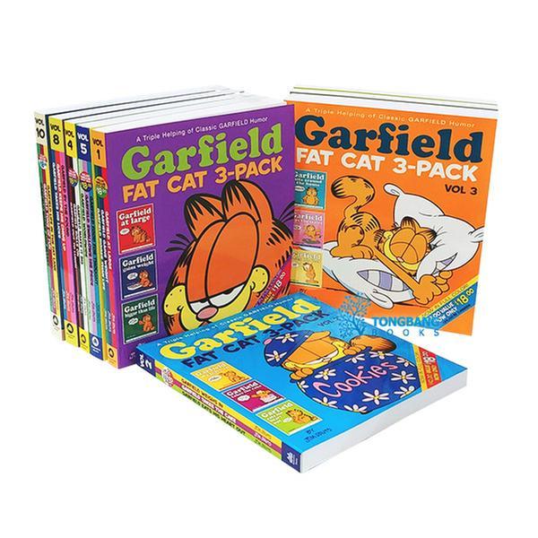 [원서] 가필드 Garfield #1~#10 코믹스 10종 세트 (Paperback)
