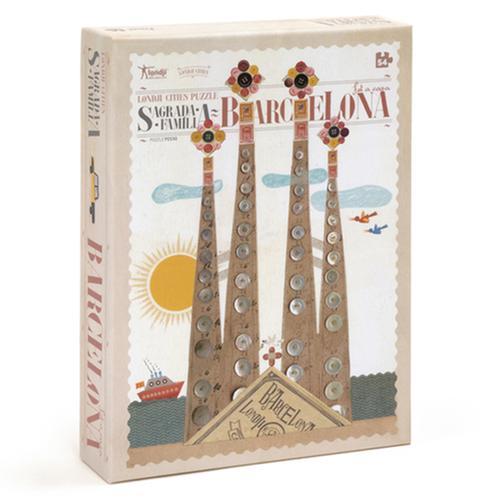 [교구] 론지 - 바르셀로나 퍼즐(54pcs)