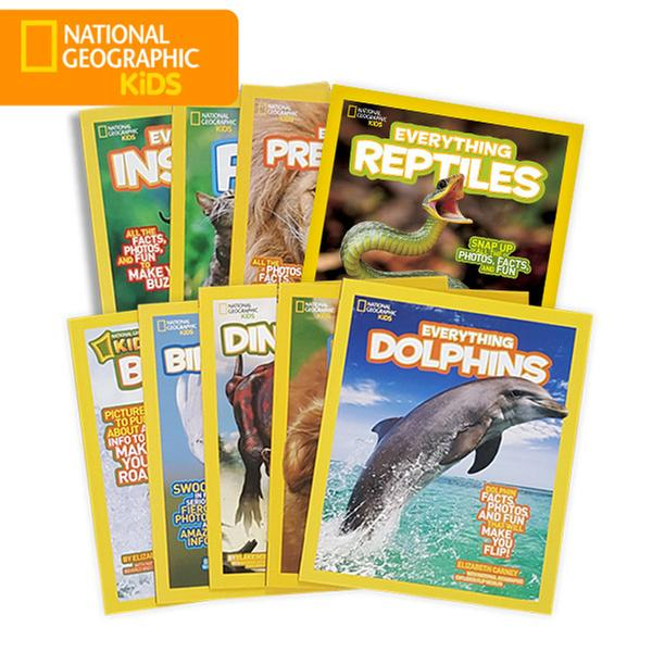 [원서] National Geographic Kids Everything 동식물 9종 세트 (Paperback)