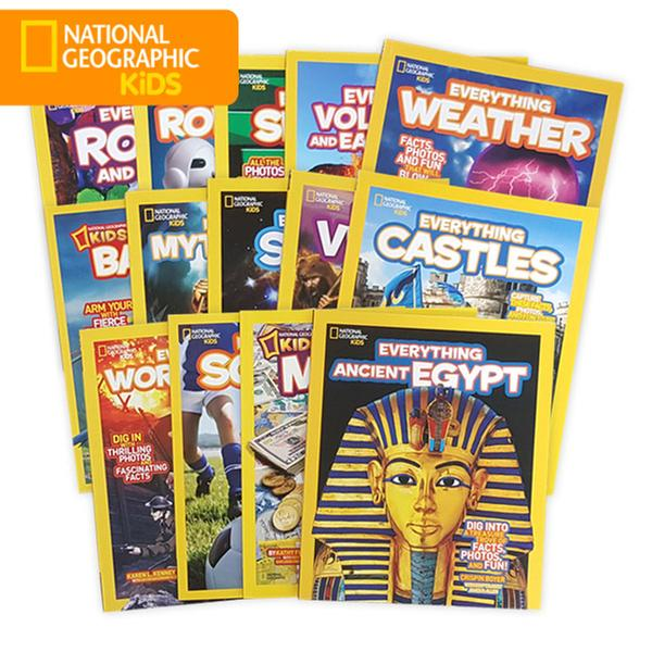 [원서] National Geographic Kids Everything 14종 세트 (Paperback)