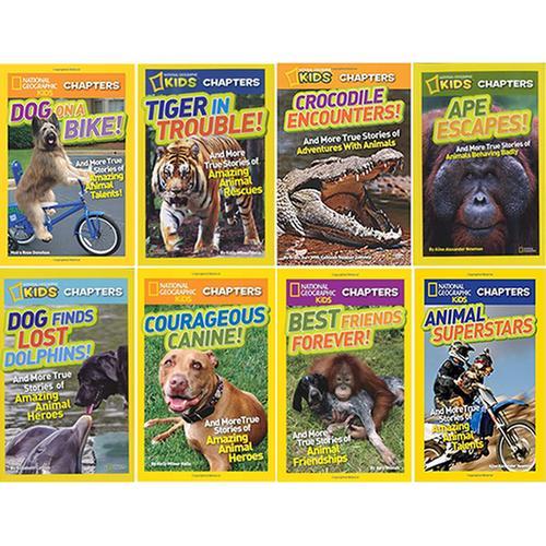 [원서] 내셔널지오그래픽 챕터북 National Geographic Kids Chapters 8종 세트
