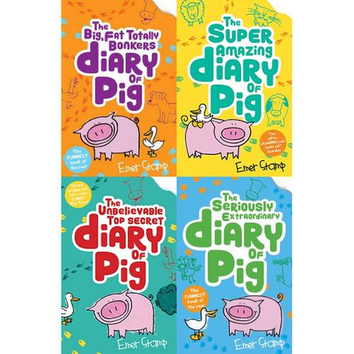 [원서] Diary of Pig 시리즈 4종 세트