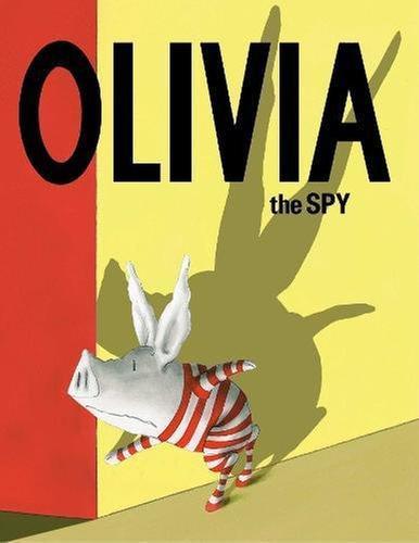 [원서] Olivia the Spy  올리비아는 스파이 번역서