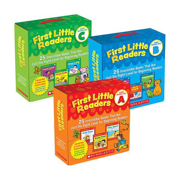 [원서] First Little Readers Box 3종 Set (Level A,B,C)