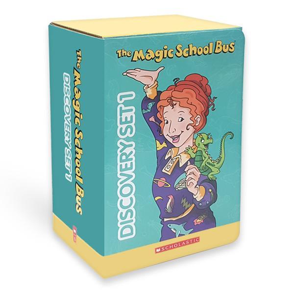 [원서] The Magic School Bus Discovery Set 1 (Paperback 10권 & CD 10장)