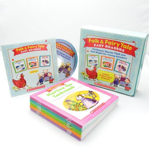 [원서] Folk & Fairy Tale Easy Readers (Book+CD) Box Set
