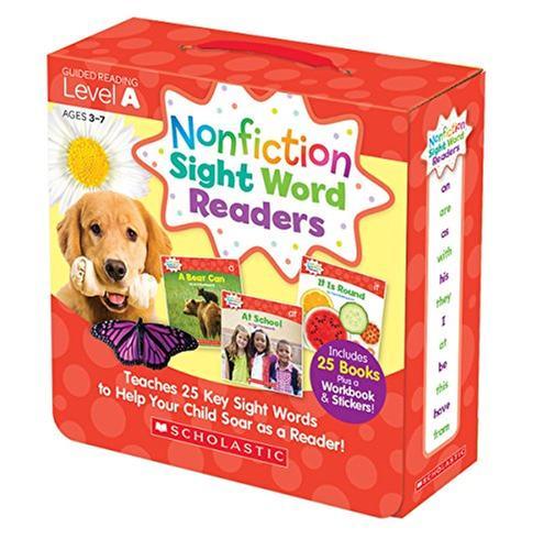 [원서] Nonfiction Sight Word Readers Parent Pack Level A 스콜라스틱