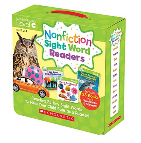 [원서] Nonfiction Sight Word Readers Parent Pack Level C