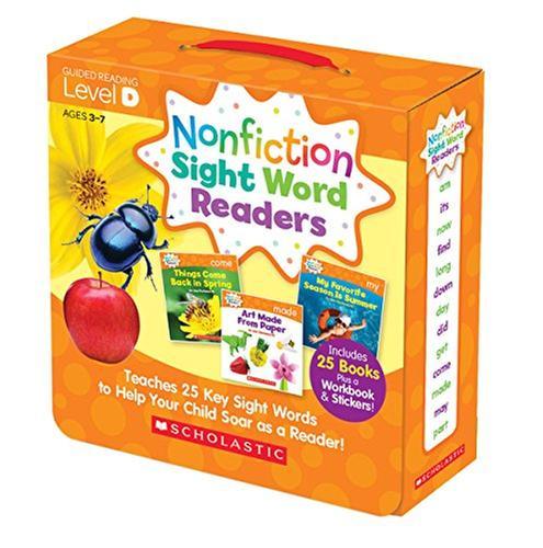 [원서] Nonfiction Sight Word Readers Parent Pack Level D