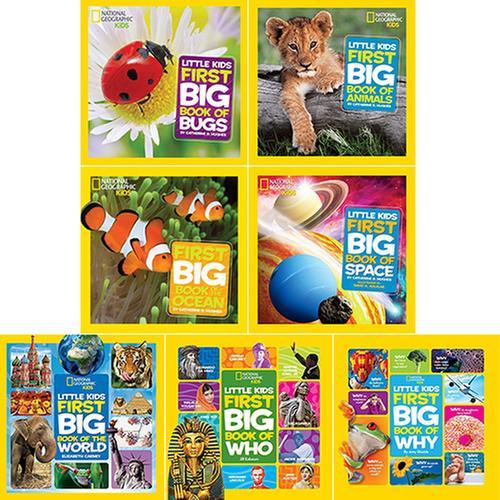 [원서] National Geographic Little Kids First Big Books 시리즈 A세트 7종