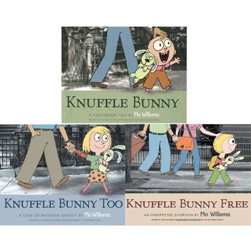 [원서] Knuffle Bunny 페이퍼백 3종 세트