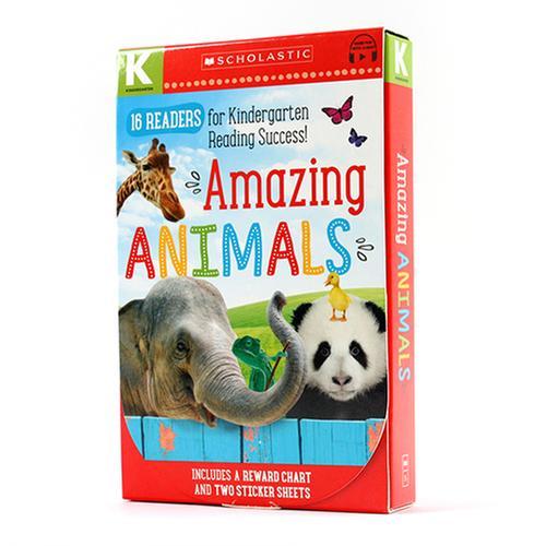 [원서] Amazing Animals 페이퍼백 16종 박스 세트