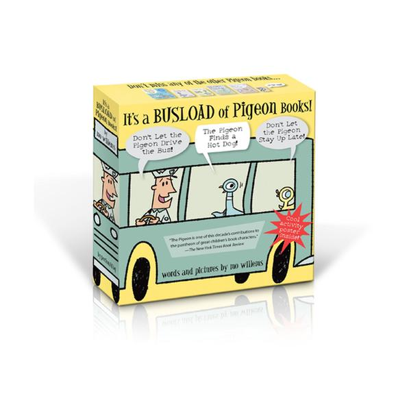 [원서] It's a Busload of Pigeon Books! (Hardcover)