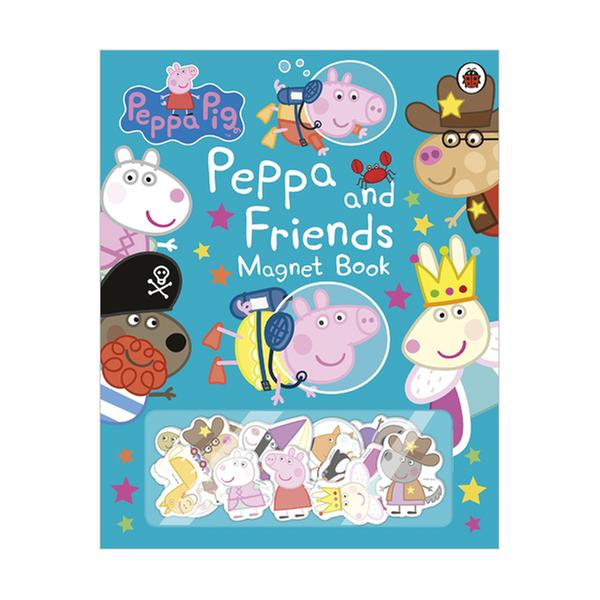 [원서] Peppa Pig : Peppa and Friends Magnet Book (Hardcover, 영국판)