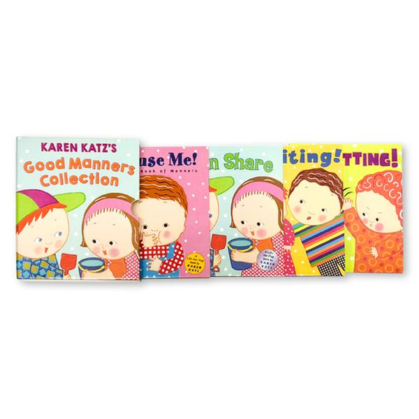 [원서] Karen Katz's Good Manners Collection (4 Board books)
