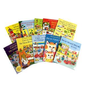 [원서] Richard Scarry bag with 10 books
