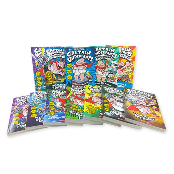 [원서] Captain Underpants (Books #1 - #12)