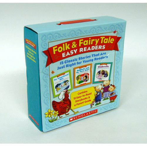 [원서] Folk & Fairy Tale Easy Readers Parent Pack: 15 Classic Stories
