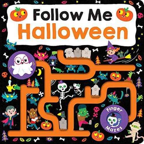 [원서] Maze Book: Follow Me Halloween (Finger Mazes)