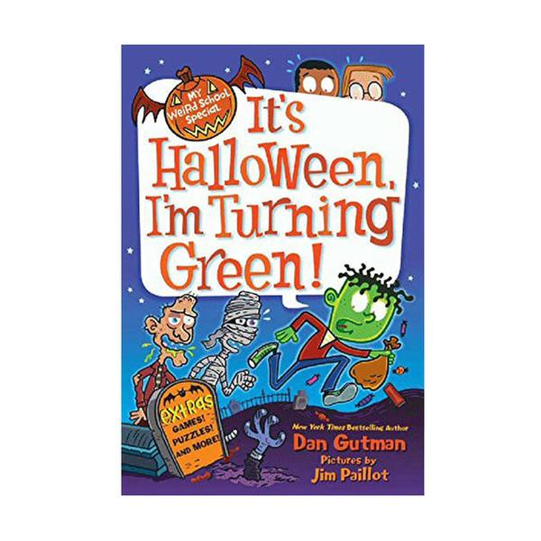 [원서] RL 3.7 : My Weird School Special : It's Halloween, I'm Turning Green! (Paperback)