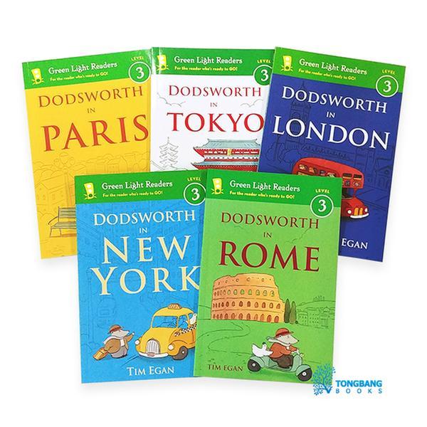 [원서] 도로시 시리즈~ Green Light Readers 3 : Dodsworth in City 시리즈 리더스북 5종 세트 (Paperback)