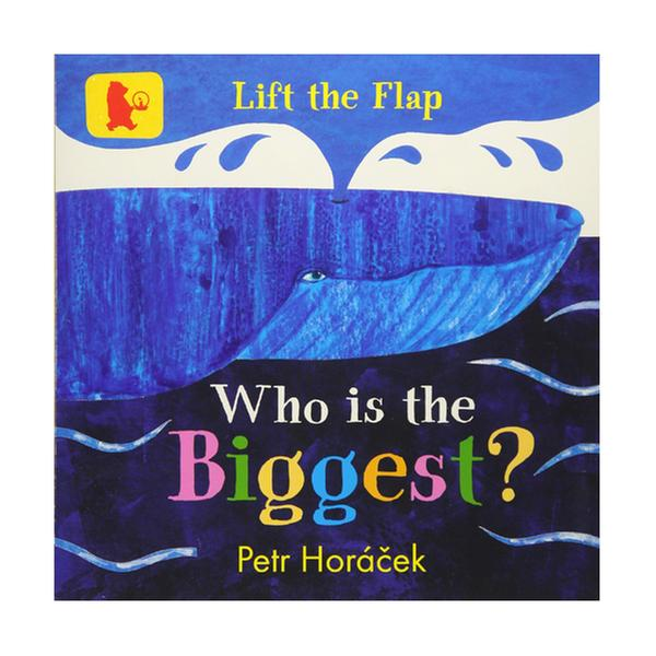 [원서] Who Is the Biggest? (Board book, 영국판)