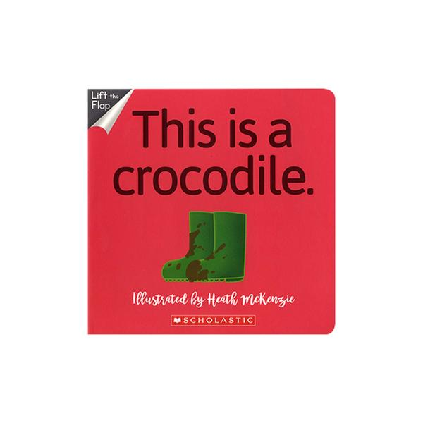 [원서] No Way! This Is A Crocodile (Board Book)