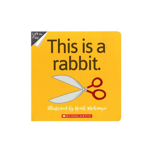 [원서] No Way! This is a Rabbit (Board Book)