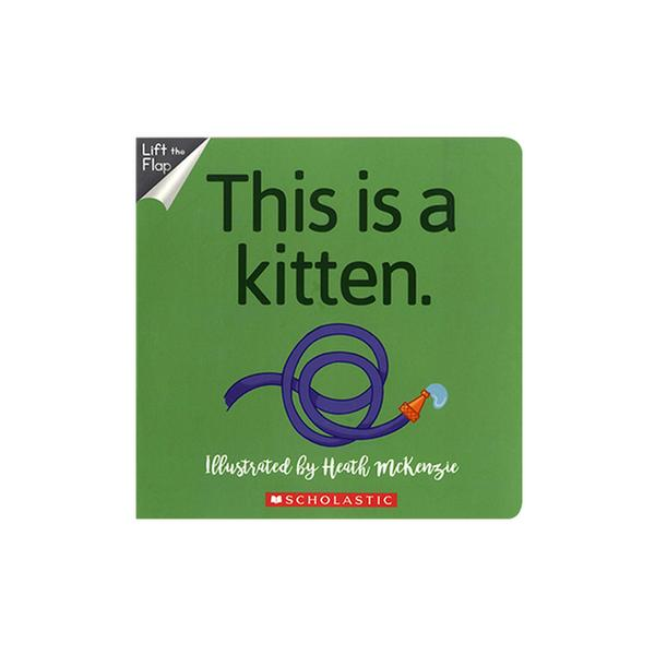 [원서]  No Way! This is a Kitten (Board Book)