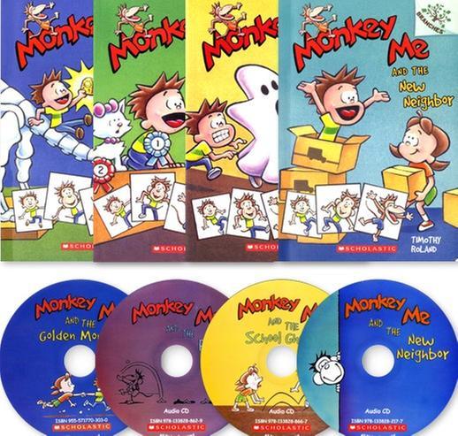 [원서] 스콜라스틱 Monkey Me (Book+CD+Wordbook) 4종 세트