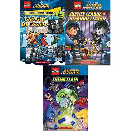 [원서] LEGO DC Comics Super Heroes 시리즈 챕터북 3종 세트