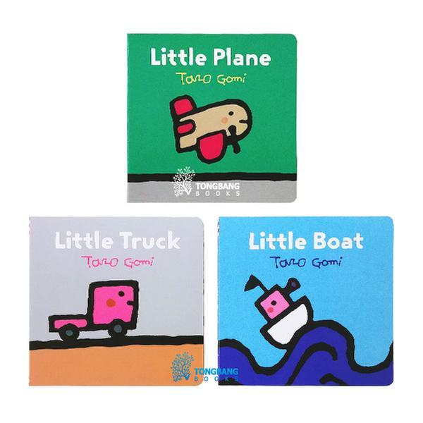 [원서] Taro Gomi 작가 Little Vehicle 시리즈 보드북 3종 세트 (Board book) (CD미포함)