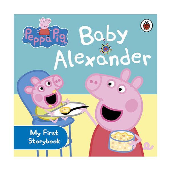 [원서] Peppa Pig : Baby Alexander (Board Book)