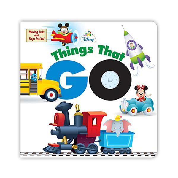 [원서] Disney Baby Things That Go (Board book)
