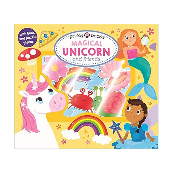 [원서] Let's Pretend : Magical Unicorn & Friends (Board book, Puzzle)