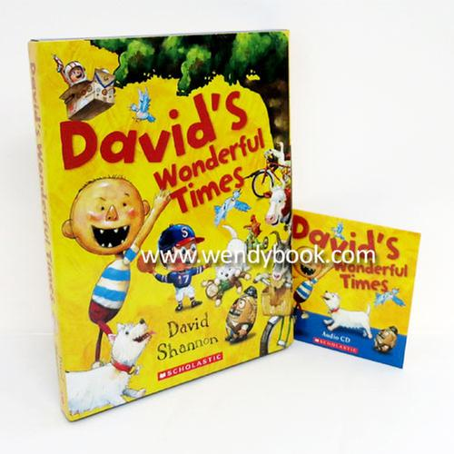 [원서] David's Wonderful Times Box Set (페이퍼백 5종+ CD 1장)