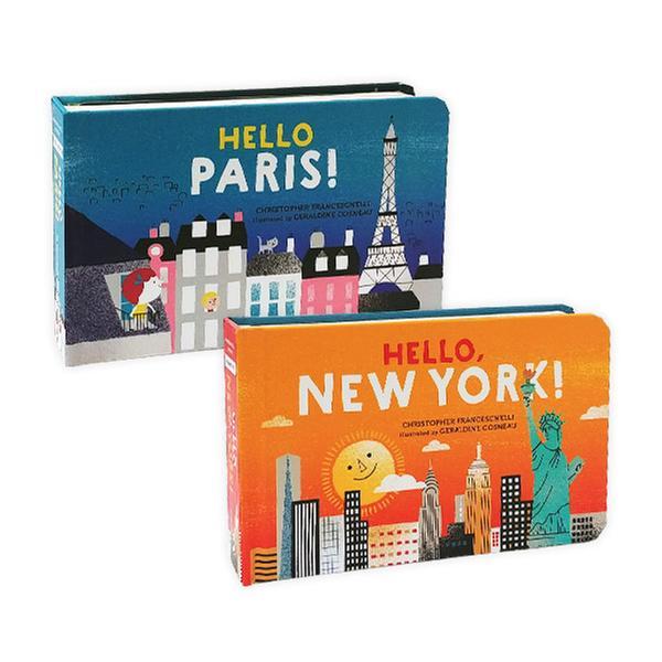 [원서] Hello Big City! 시리즈 보드북 2종 세트 (Boardbook)