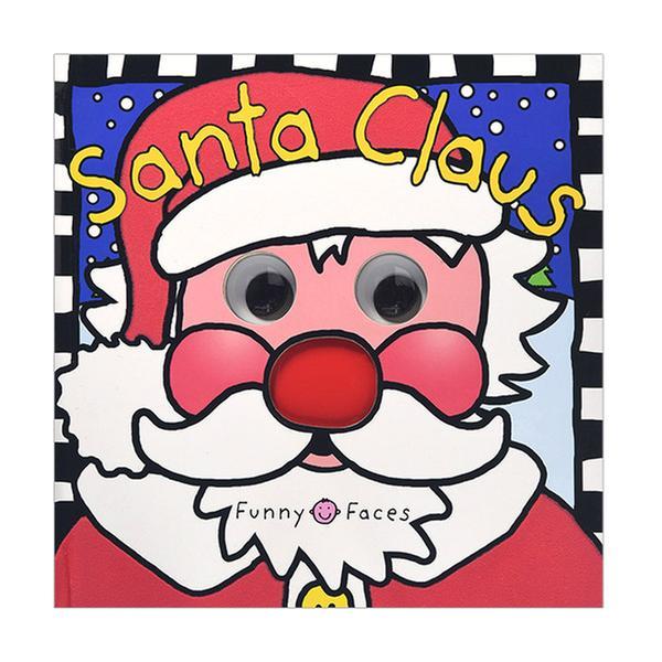 [원서] Funny Faces Santa Claus (Board Book)