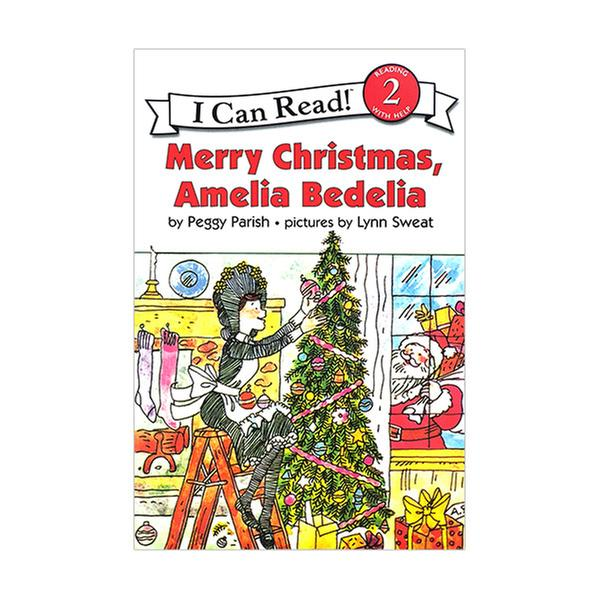 [원서] RL 2.1 : I Can Read Book Level 2 : Merry Christmas, Amelia Bedelia (Paperback)