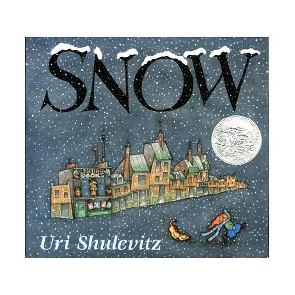 [원서] RL 1.6 : Uri Shulevitz : Snow (Paperback, Caldecott)