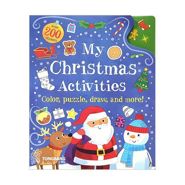 [원서] My Christmas Activities: Colour, Puzzle, Draw and More!