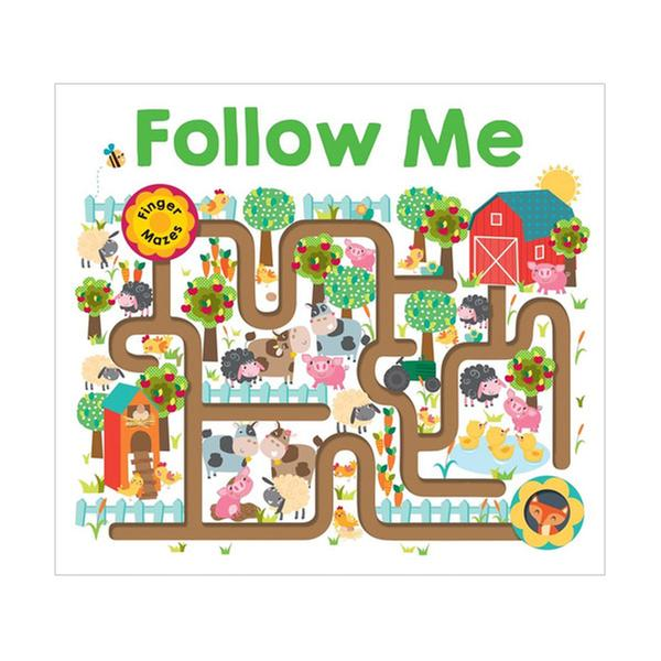 [원서] Follow Me: Maze Book (Board Books) 미국판