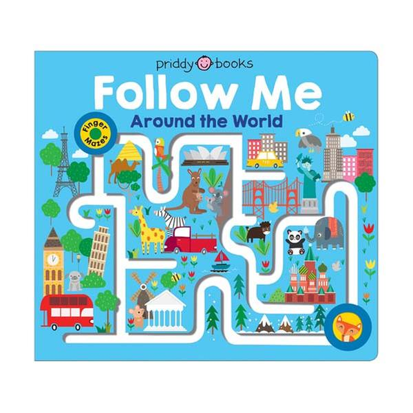 [원서] Follow Me Around the World : Maze Book (Board Books) 미국판