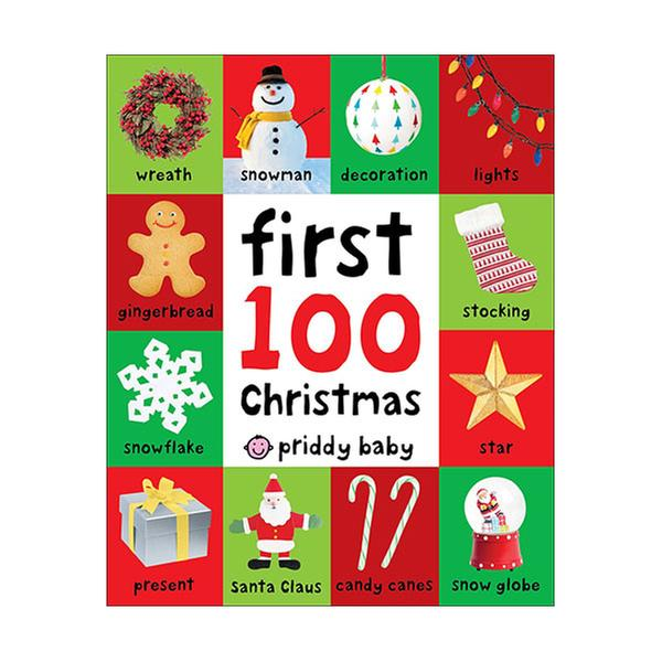 [원서] First 100 Christmas Words (Board book)
