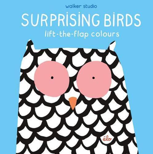 [원서] Surprising Birds: Lift-the-Flap Colours (Walker Studio)