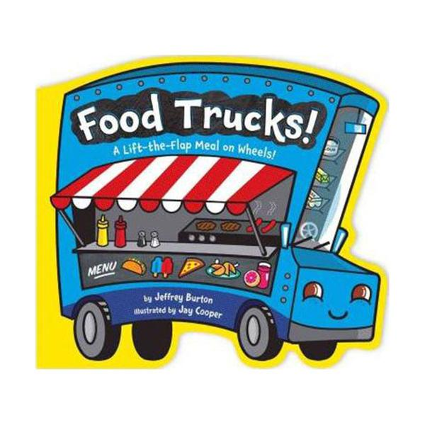 [원서] Food Trucks! : A Lift-the-Flap Meal on Wheels! (Board book)