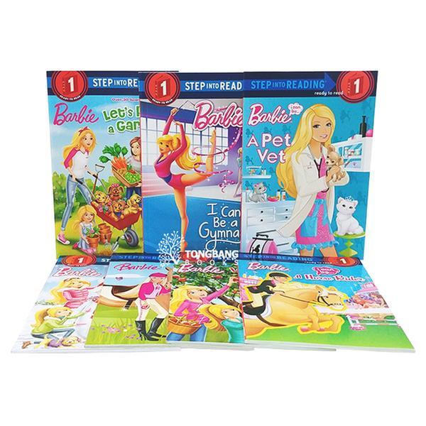 [원서] Step into Reading 1 단계 Barbie 시리즈 7종 세트 (Paperback) (CD미포함)