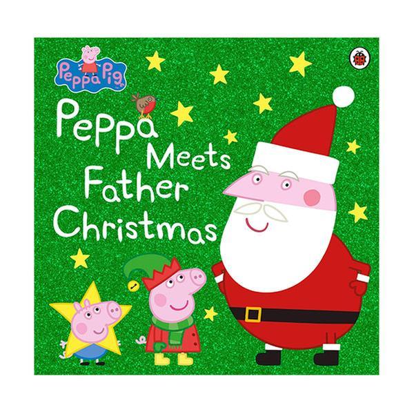 [원서] Peppa Pig : Peppa Meets Father Christmas (Paperback, 영국판)