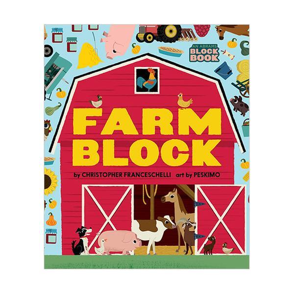 [원서] Farmblock : Block Book (Board book)